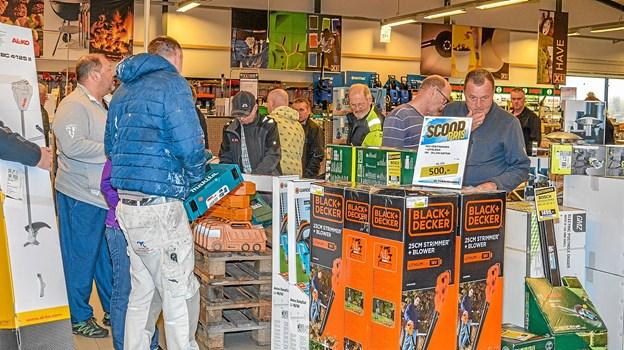 Der var rift om de specielle Scoop priser - specielt om de tilbud, der kun var få af. Foto: Mogens Lynge