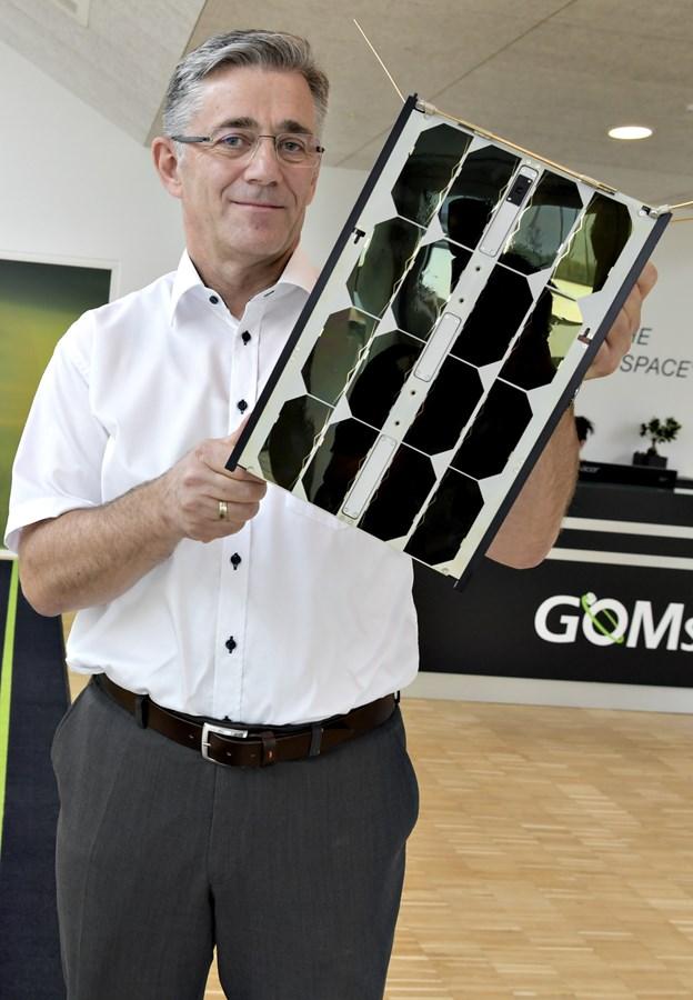 Direktør Niels Buus er vært, når Venstre i Støvring og omegn 16. januar besøger Aalborg-virksomheden GomSpace. Arkivfoto