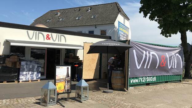 Sidste år havde Vin & Vin premiere på containersalget, der snart vender tilbage igen. Foto: Vin & Vin