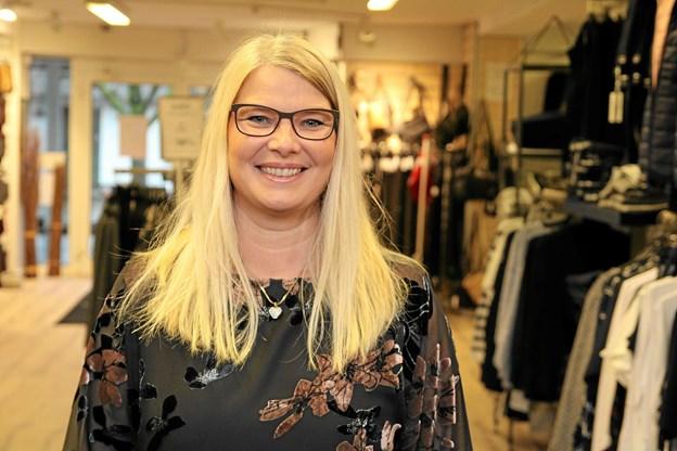 Berit Jensen fejrer 30 år hos Centrum. Foto: Flemming Dahl Jensen