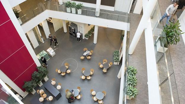 Aalborg har netop fået et helt nyt gymnasium. Arkivfoto: Peter Broen