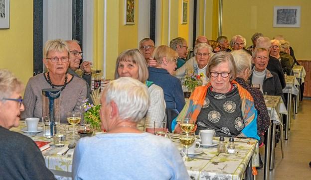 Det er en populær aktivitet, som Ældre Sagen i Løgstør har. Suppeaftenerne er blevet et hit. Foto: Mogens Lynge