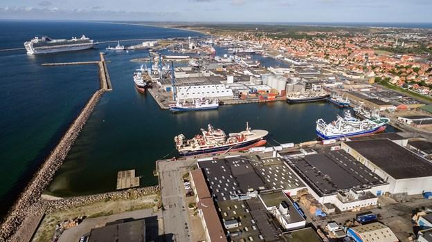Havnen kan for 2018 fremvise en rekordomsætning på godt 50 millioner kroner og et resultat på 10 millioner kroner.Arkivfoto: Peter Broen