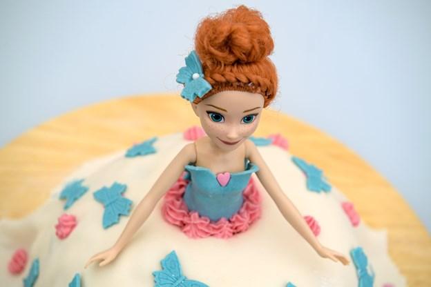Barbiekagen blev nummer tre. Foto: Bo Lehm Foto: Bo Lehm