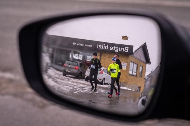Friske motionister deltog i lørdagens løb. Foto: Martin Damgård Martin Damgård
