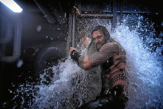 Det skorter ikke på vand i Aquaman.