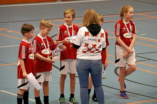 Jutlander Bank Skolecup har 50-års jubilæum næste år. Det fejres med en t-shirt til deltagerne. Foto: Erik Røgild