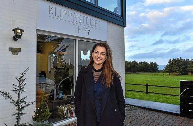 Beliggende med den flotteste udsigt - også fra salonen, over Vigsø Bugt. Foto: Ole Iversen Ole Iversen