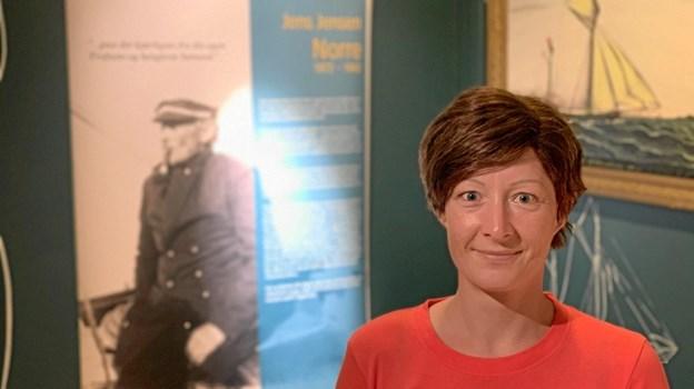 Den nye udstilling har været lagt i hænderne på museumsinspektør Nanna Folke Olsen (billedet), der sammen med Ph.d. studerende Kristina Madsen har arbejdet med designet i hen ved tre år. ?Privatfoto