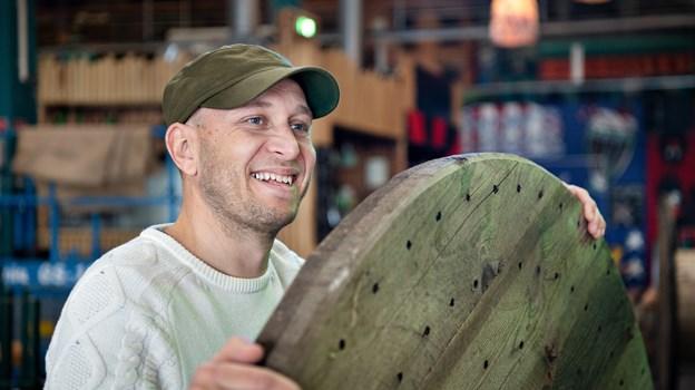Rene Fürster er for nylig blev ansat som bookingansvarlig på Aalborg Street Food. Han er oprindeligt fra Gug, og så har han tidligere været en del af Street Food i Aarhus. Foto: Hans Ravn