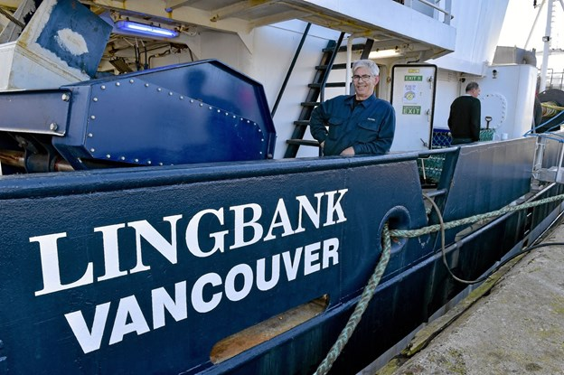 Preben Munk er med Lingbank en sidste gang på det meste af turen til Vancouver. Han har været maskinmand i 14 år på trawleren.