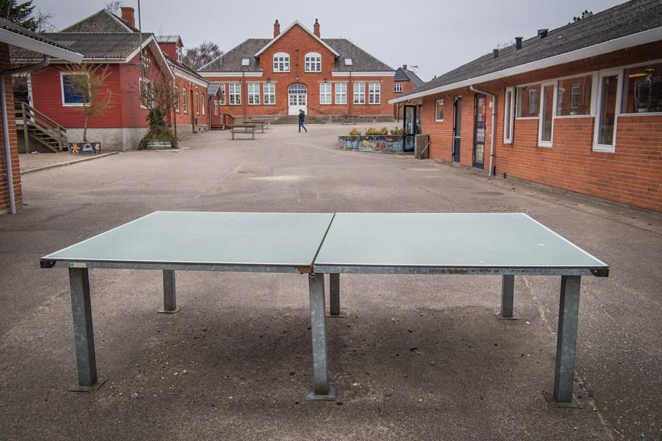 Borgermødet holdes på Skelund Skole 12. januar. Arkivfoto: Martin Damgård