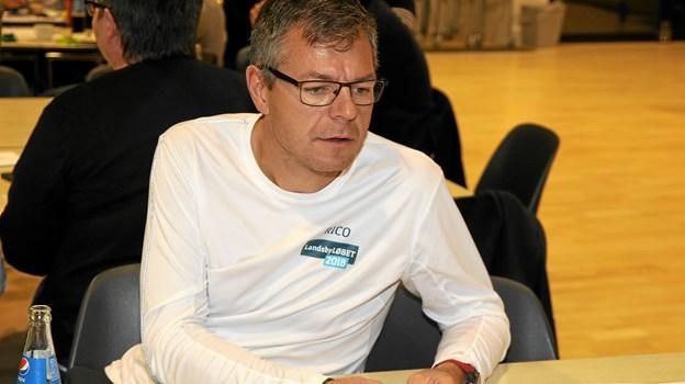Rico Eiersted er manden bag løbet Coast2Coast og adskillige andre motionsløb - nu også Tour de Jammerbugt 2019. Foto: Flemming Dahl Jensen Flemming Dahl Jensen