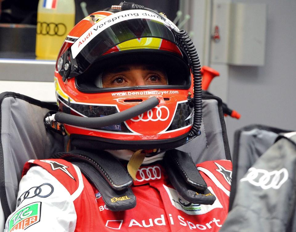 Tom Kristensen måte nøjes med en 2. plads i årets Le Mans. AFP PHOTO / JEAN FRANCOIS MONIER