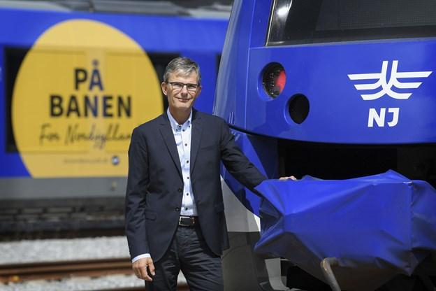 Peter Hvilshøj, direktør for NJ. Arkivfoto: Claus Søndberg