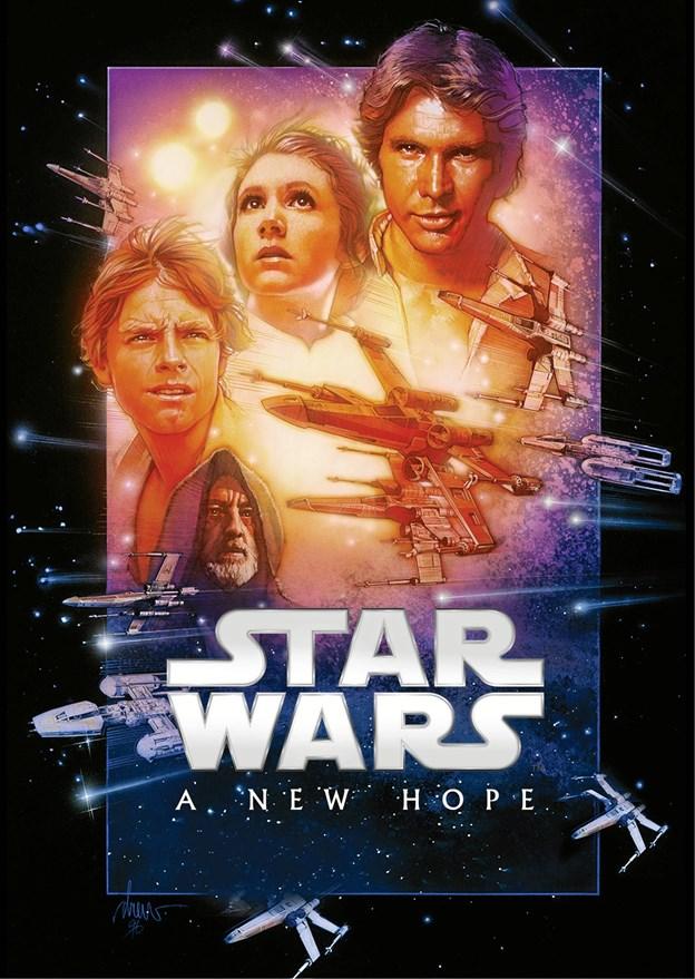 A New Hope udkom i 1977 og er den første Star Wars-film og den fjerde episode i sagaen.PR-foto