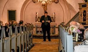 Salmestafet i Vilsted Kirke