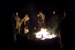 Vintersolhvervsfest i hundeskoven