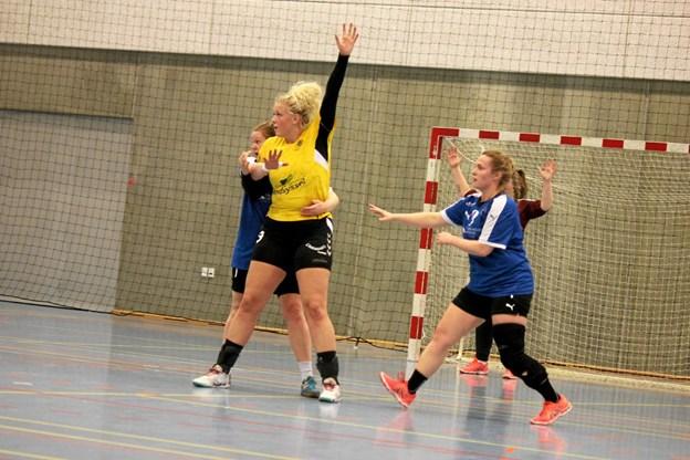 VIF Mors havde mere end greb om spillerne. Foto: Flemming Dahl Jensen Flemming Dahl Jensen