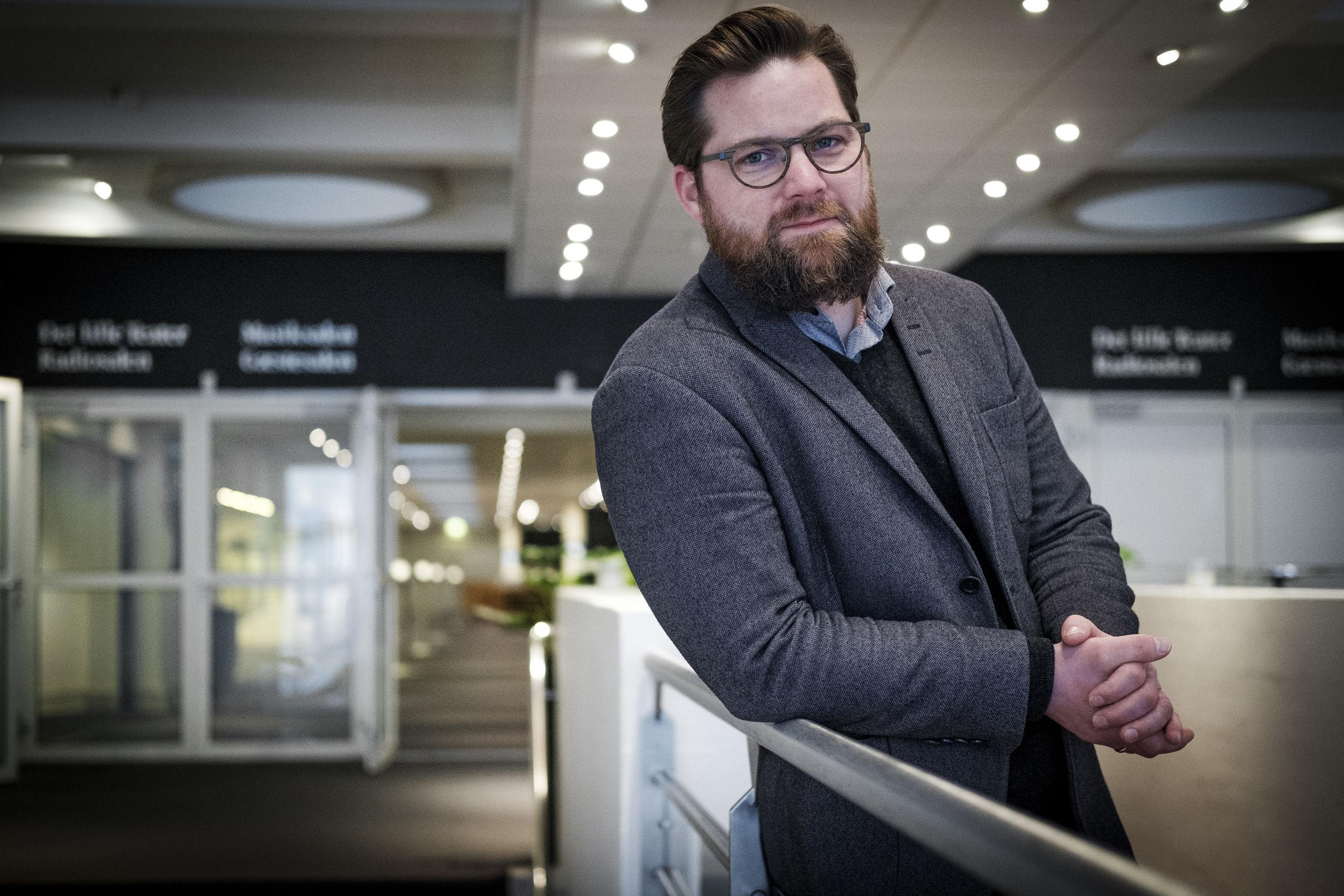 Det handler ikke kun om at pulje penge. Det handler også om at trække på netværk, fortæller Nicolaj Holm. Foto: Lasse Sand