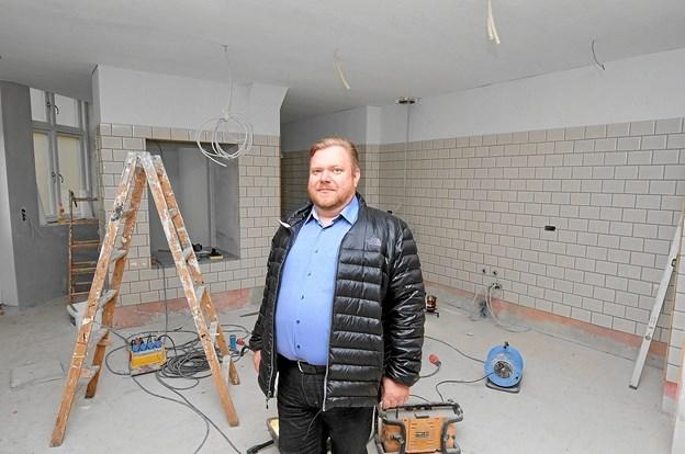 Jesper Hjortdal er klar til nye udfordringer med Restaurant Hjortdal. Foto: Privatfoto