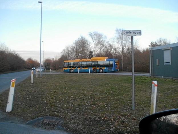 Efter sommerferien er det slut med linje 2L fra Sæderupvej i Gistrup. Foto: Kjeld Mølbæk