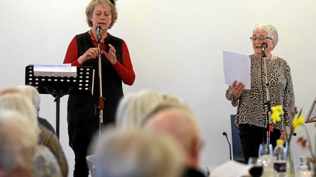 Ladegården i Hals dannede tirsdag ramme om en sangaften. Foto: Allan Mortensen