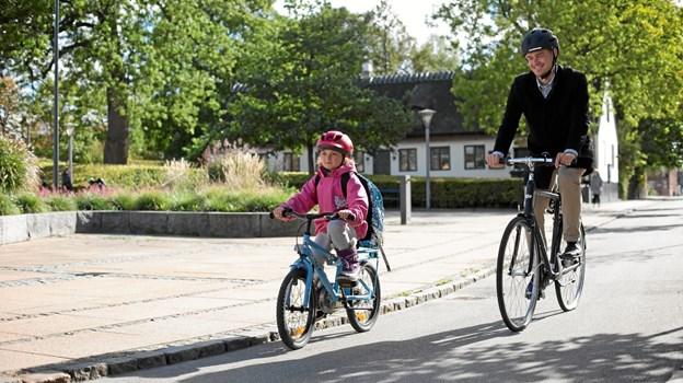 Trafiktræning henover sommeren klæder børnene på til skolestart i august.