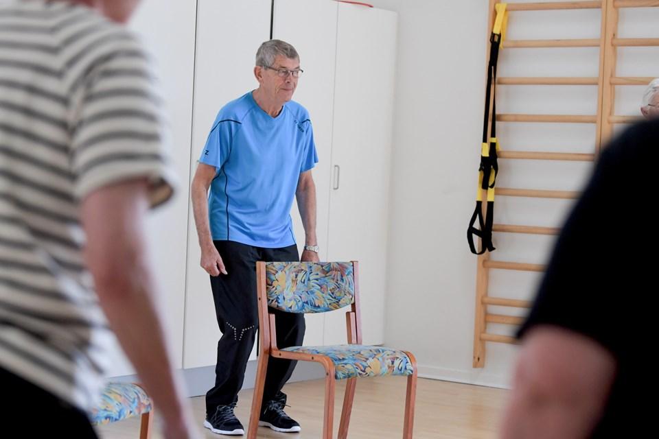 Der er hjælp at hente på kommunens Sundhedscentre, hvis man har osteoporose og har haft et knoglebrud. Foto: Henrik Louis
