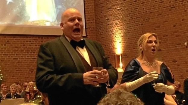 Frederikshavns syngende læge, Vesna Djordjevik og Jens-Christian Wandt, kendt fra bl.a. verdensballetten, er klar til ny duet i festlig nytårskoncert i Abildgård Kirke.