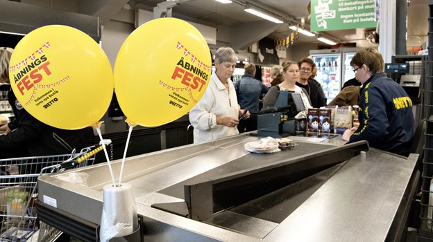 Netto har åbnet nye butikker i flere byer. Snart åbner butikskæden ny butik i Vrå.   Arkivfoto: Henrik Louis