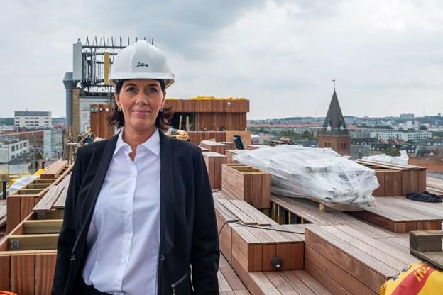 Camilla Mortensen glæder sig til at dele Salling Rooftop her med resten af omverdenen.