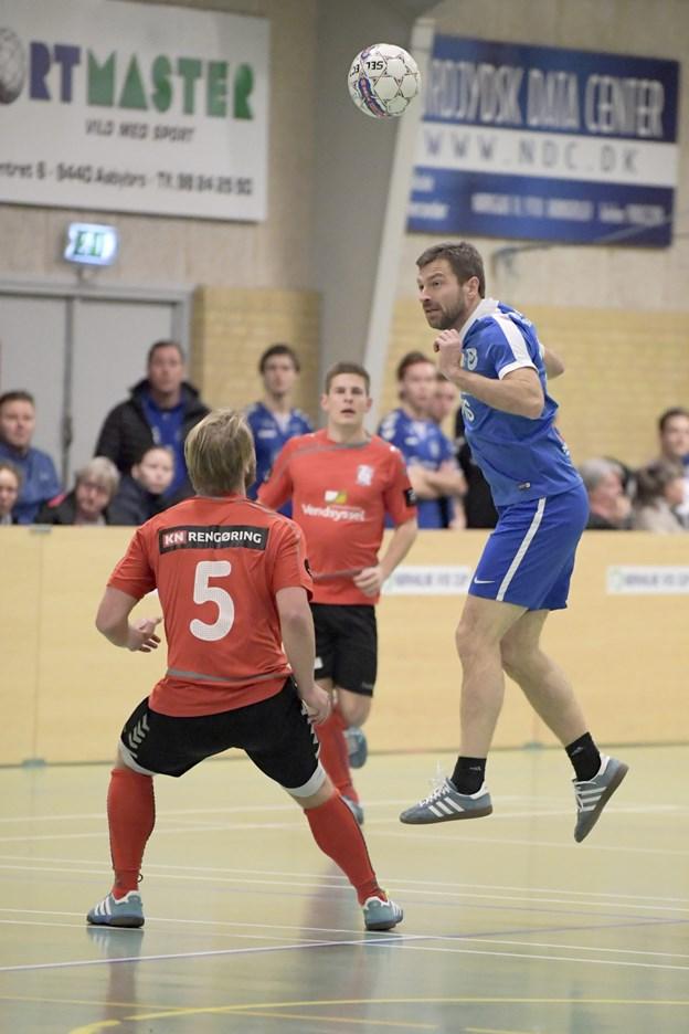 For 37. gang spilles der Nørhalne VVS Cup. Arkivfoto: Henrik Louis