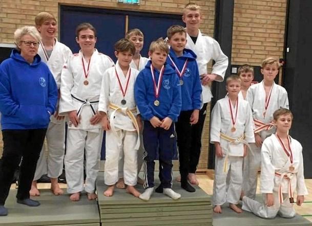 Otte medaljer til Ørsø Judoklub