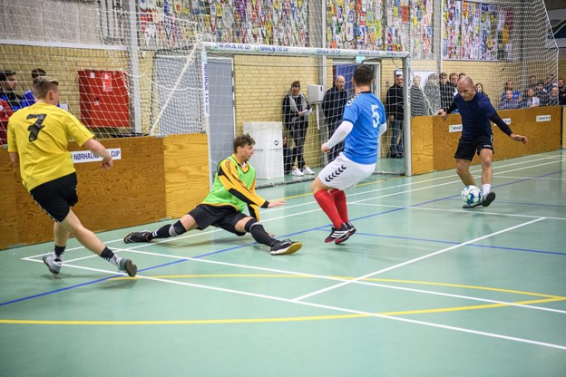 Morten Eriksen scorer for Aabybro. Foto: Nicolas Cho Meier Nicolas Cho Meier