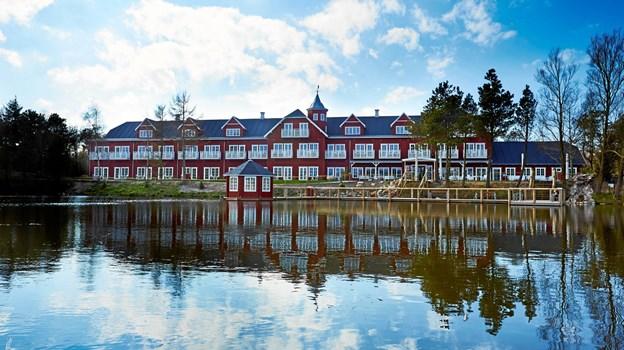 Hotel Fårup får flotte anmeldelser. Pressefoto