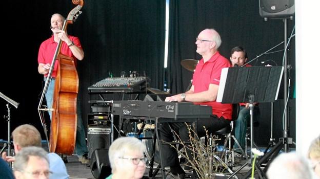 Lions Club Hals, Sophie Hedvig, står bag koncerten med East Coast Old Stars Jazzband. Foto: Allan Mortensen