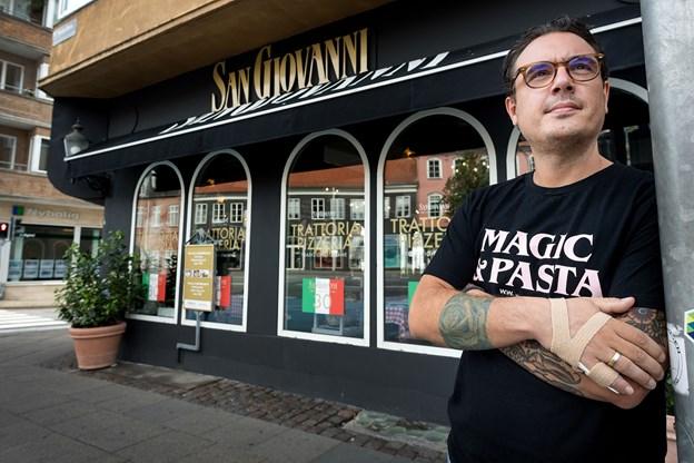 Mikele Volpi står i dag i spidsen for restauranten, som hans forældre startede i 1988.
