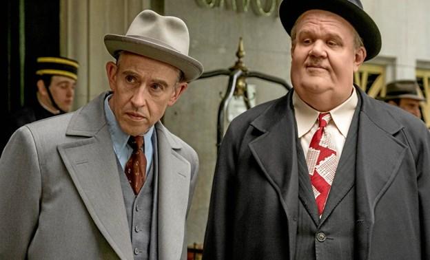 Steve Coogan og John C. Reilly som Gøg & Gokke. Ligheden er slående