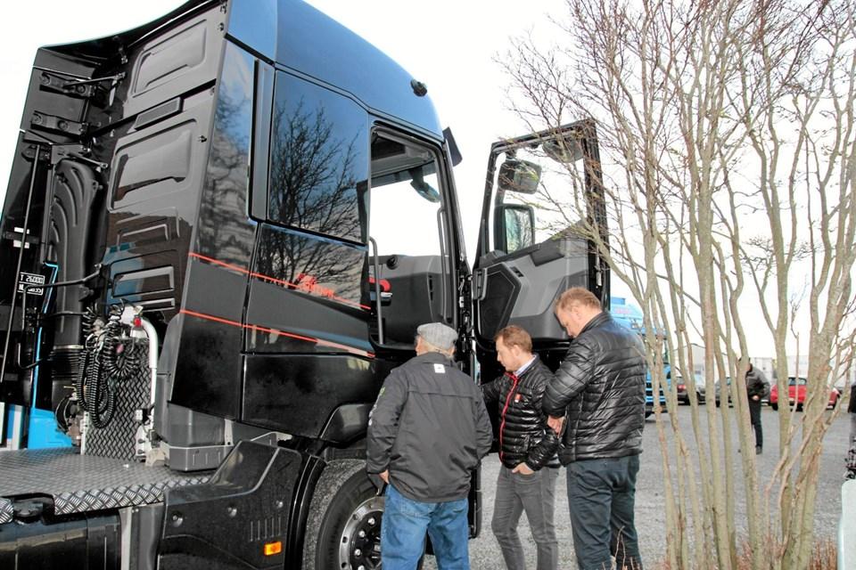 Lastvognene bliver ikke mindre i højden. Foto: Flemming Dahl Jensen Flemming Dahl Jensen