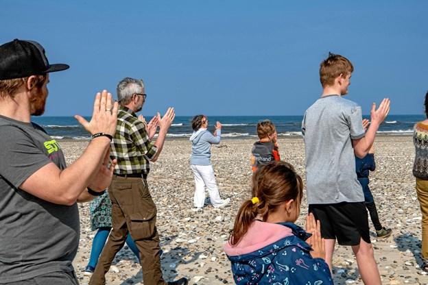 Der vil være mulighed for at deltage ganske gratis i aktiviteterne på stranden hen over sommeren - og alle kan være med. ?Foto: Finn Byrum