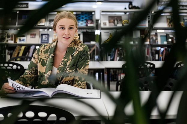 Amalie Sofia Pajkes-Jensen bliver glad af at glæde andre.