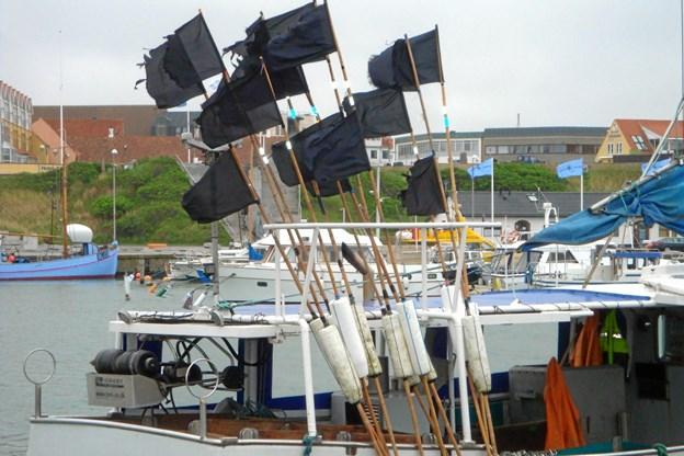 Hirtshals Havn er fortsat også en fiskerihavn.   Privatfoto