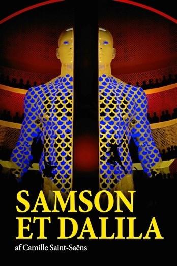 Dramaet mellem Samson og Dalila udspiller sig i Pandrup Kino. Pressefoto