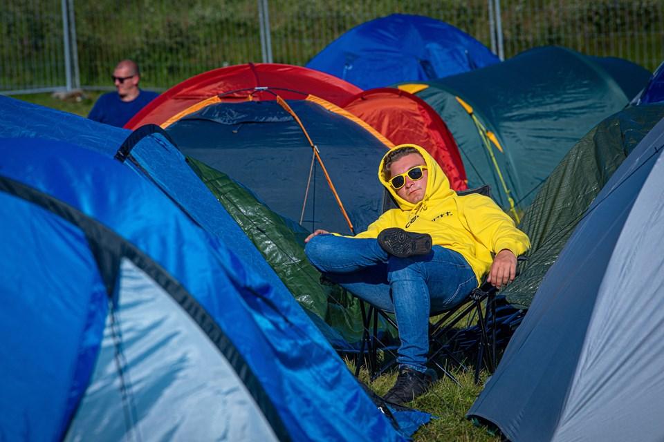 Solen skinner endelig over Nibe Festival. Foto: Martin Damgård