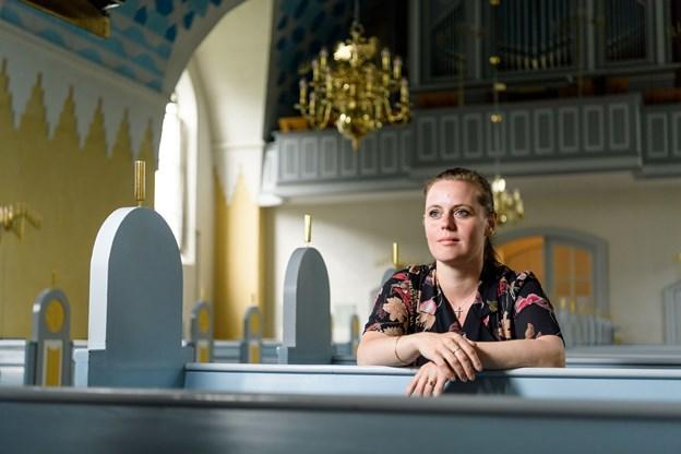 - Vi er velsignet med en stærk kernemenighed, som vi skal passe på og værne om, siger Tine Gramm Petersen.