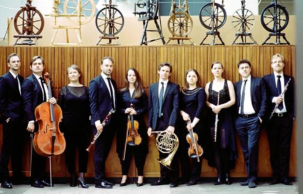 Ensemble MidtVest giver torsdag 7. februar koncert i Hobro Musikforening.  PR-foto