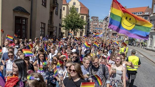 Aalborg fejrer mangfoldigheden. Foto: Andreas Falck