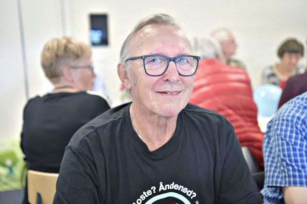 Ove Rønnov var indstillet til prisen for sit arbejde med folk med KOL.Foto: Bente Poder