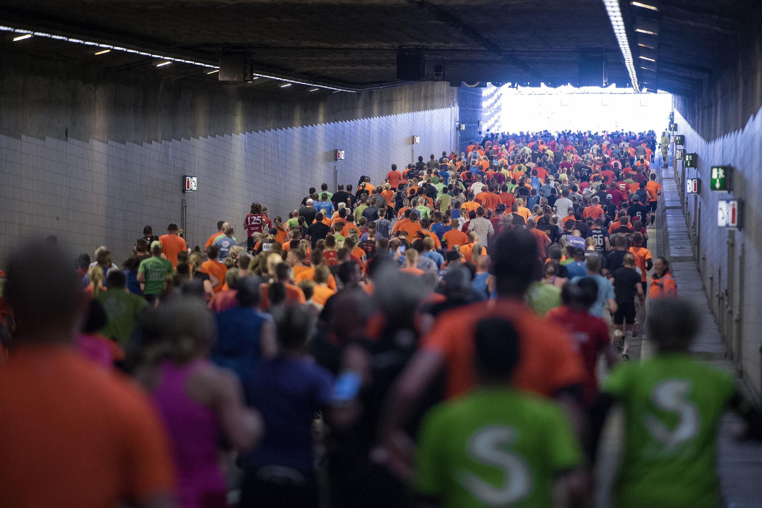 Kæmpe begivenhed: Denne dag kan du gå gennem tunnelen